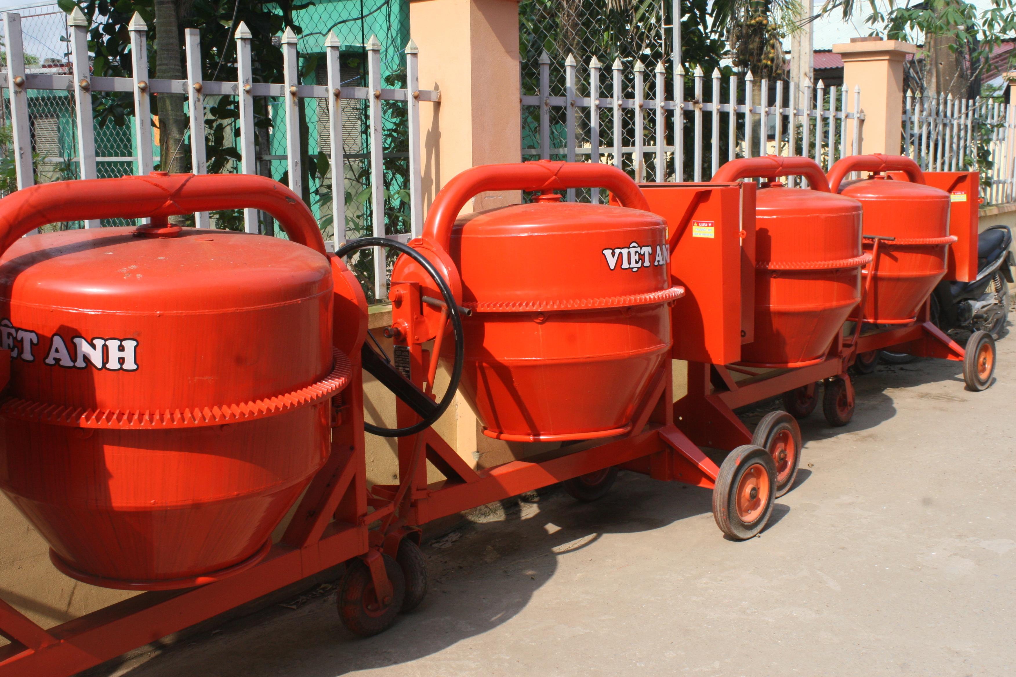 Giới thiệu sản phẩm máy trộn bê tông
